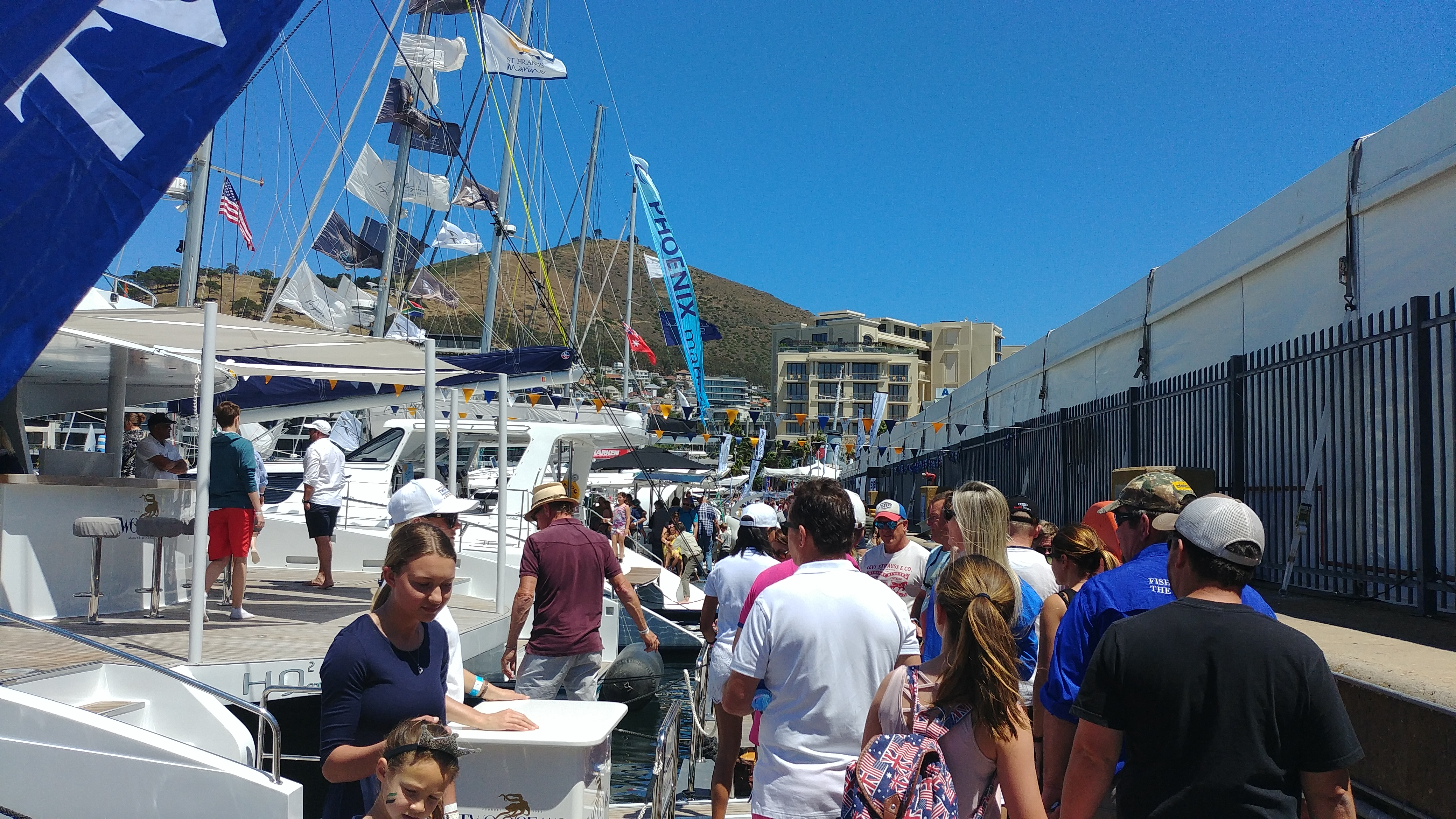 Visitors at the 2018 Cape Town International Boat Show